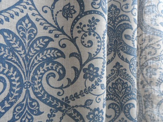 Top 25 ideas about Damask Curtains on Pinterest | Damask bedroom ...