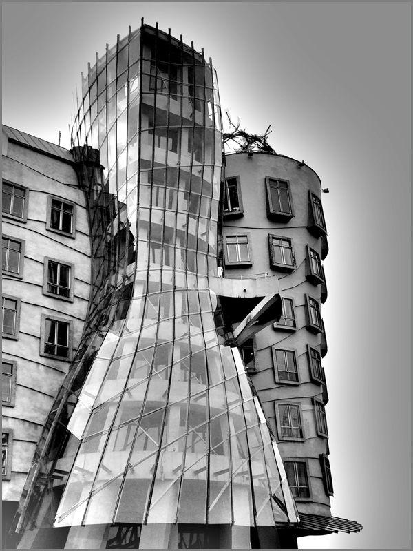 Das tanzende Haus in Prag