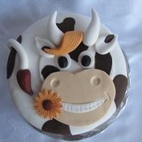 cow cake!  :) cake central.com