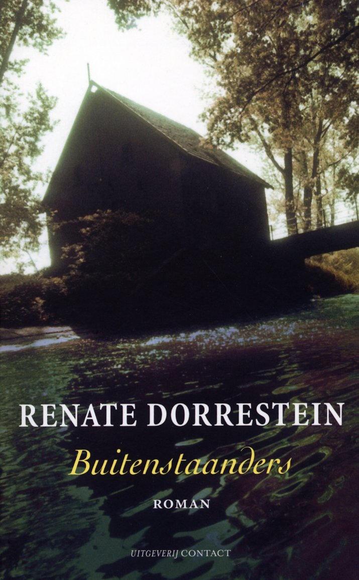 Buitenstaanders - Renate Dorrestein 1983 Op weg naar hun vakantiebestemming belandt een jong gezin door autopech in een afgelegen huis. Daar leeft een merkwaardig gezelschap: een oude dame en haar zoon, die voor de kost liefdesbrieven schrijft, twee identieke zusjes, een zwakzinnig kind en een klusjesman. Maar niemand is wat hij lijkt te zijn…