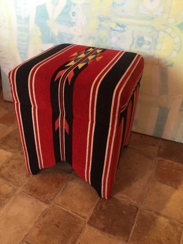Handmade weave arabic #seating furniture stool hookah #lounge red #stripe cafe,  View more on the LINK: 	http://www.zeppy.io/product/gb/2/232042005375/