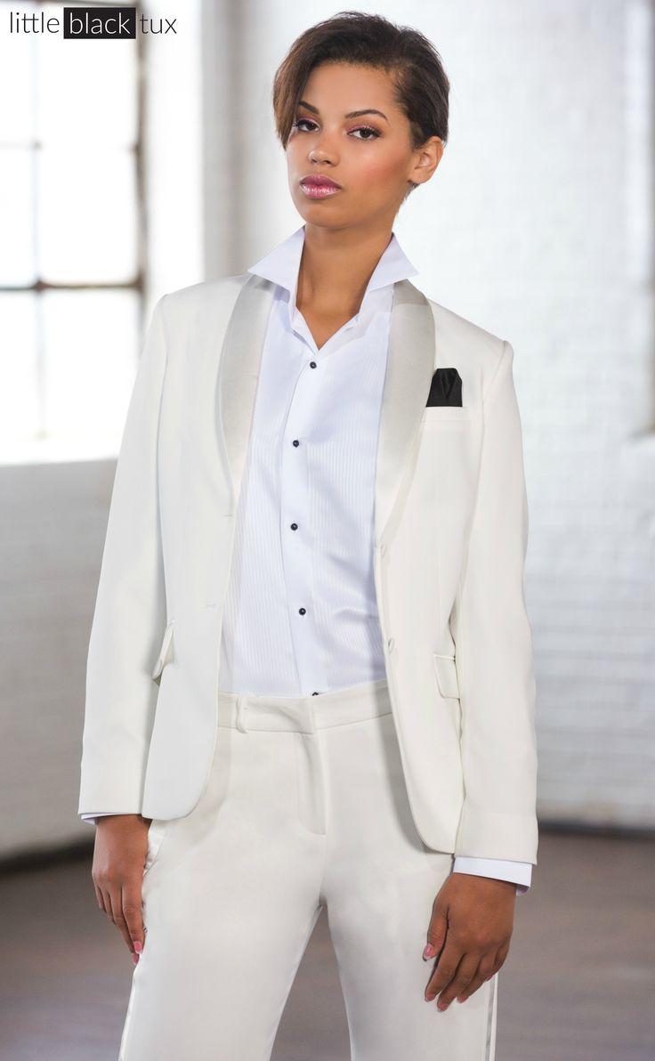 20 best wedding images on Pinterest | Womens tuxedo jacket, Clothing ...