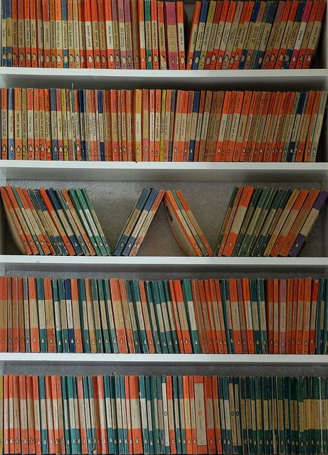 Vintage Penguin Books - just love.