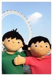 topsy and tim cake - Google Search