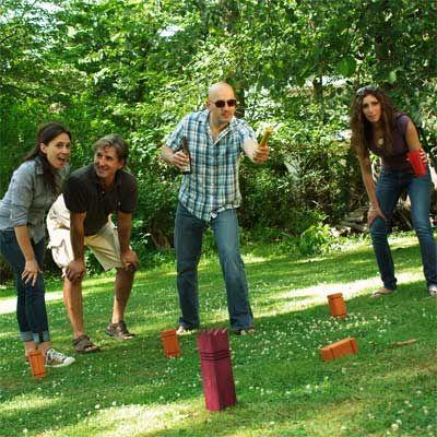 Jouez au Kubb lors du Moment proposé par #Daim !