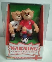 BAD TASTE BEARS KRUNSCH N TACKLE World Cup soccer England Germany football fight