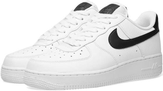 Nike Airforce Ones With Black Swoosh Nike Nike Air Force Nike Air Force Sneaker