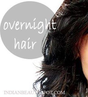promote hair growth along with a good nights sleep