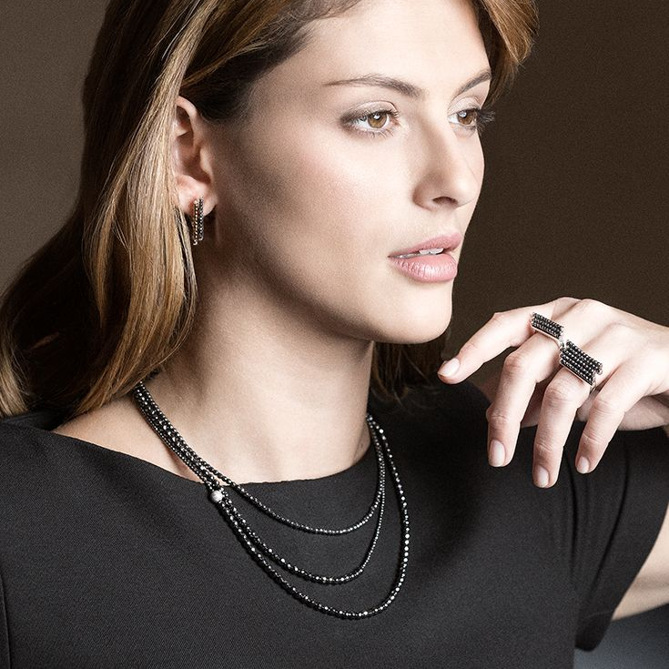 Elegant Necklace & Rings | Sirius Necklace | Serpens & Hydra Rings