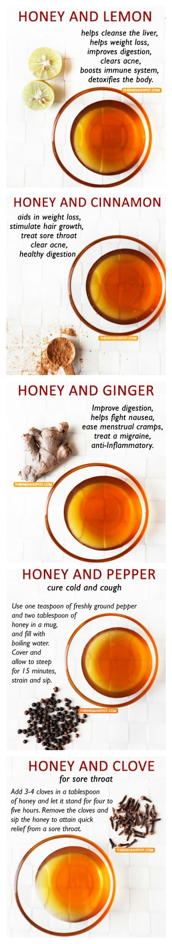 ADD BLACK PEPPER WHEN USING TURMERIC IT HELPS THE BODY ABSORB BETTER AND YOU WON'T NOTICE THE TASTE,ADD HONEY,1 TBSP'PLUS 1/4 TSP.S GINGER,TURMERIC AND CINNAMON, MIX TO A PASTE,1/4 FILL CUP WITH COLD WATER ADD A SQUEEZE OF LEMON AND TSP'APPLE CIDAR VINEGA