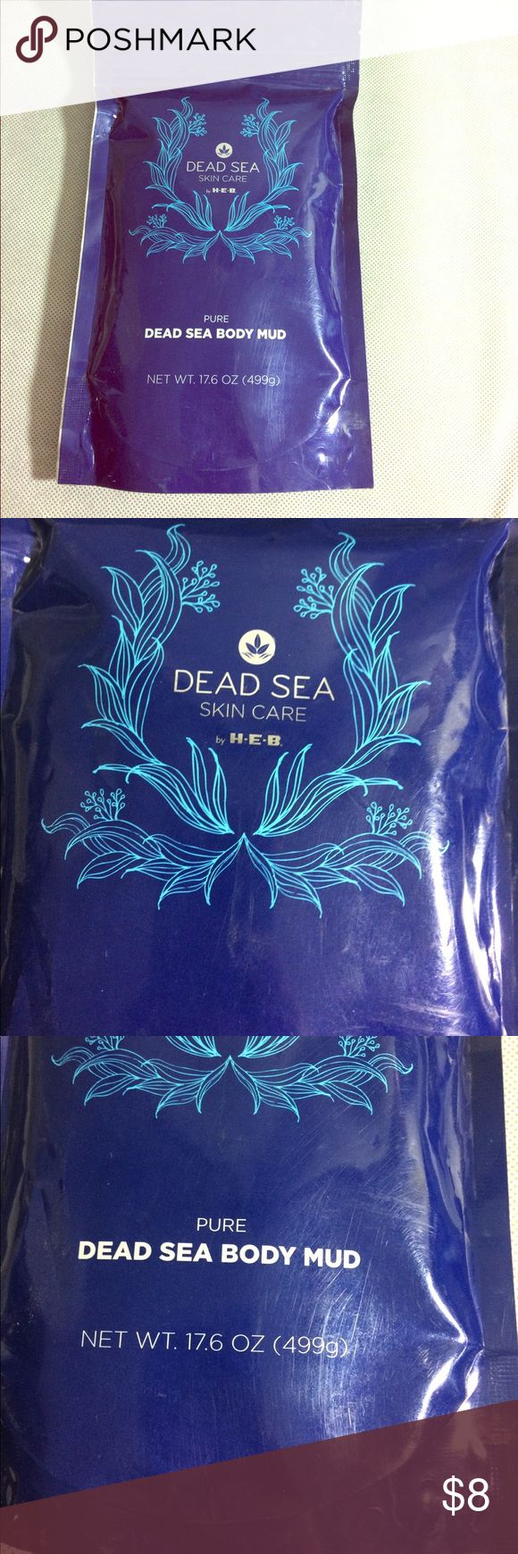 Dead sea body mud This is the dead sea skin care body mud H.E.B Makeup