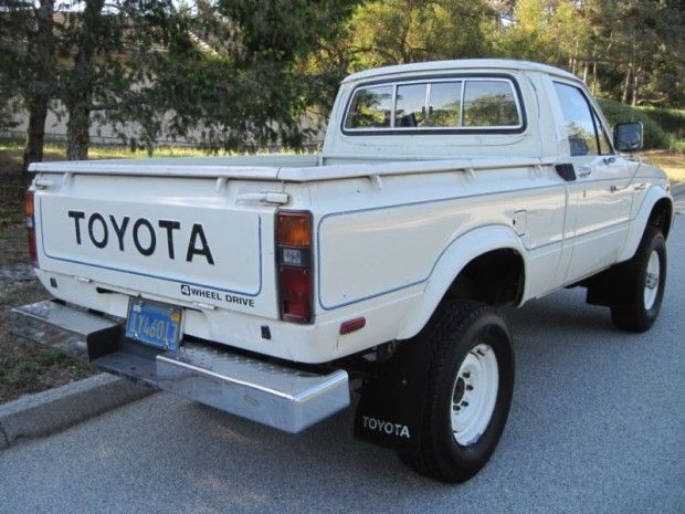 Original Paint: 1980 Toyota 4x4 Pick-Up