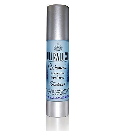 Ultraluxe Women's Ingrown Hair & Razor Bump Treatment, 1.75 Ounce