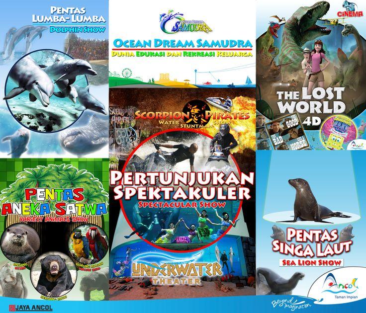 Ocean Dream Samudra Ancol, Dunia Edukasi dan Rekreasi Keluarga. Tempat Wisata dan Rekreasi dikawasan Jakarta Utara yang sangat digemari oleh kalangan Keluarga. Selalu menampilkan Keseruan dan Kejutan di setiap harinya.   Be There . . .