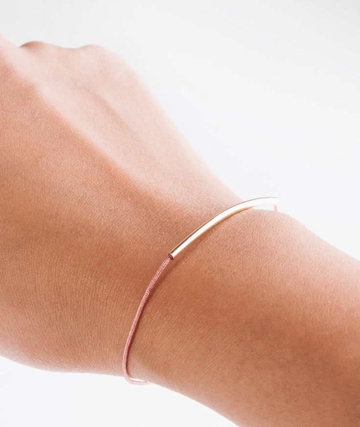 BLIING Topas Armband rose