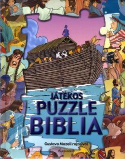 Játékos puzzle Biblia