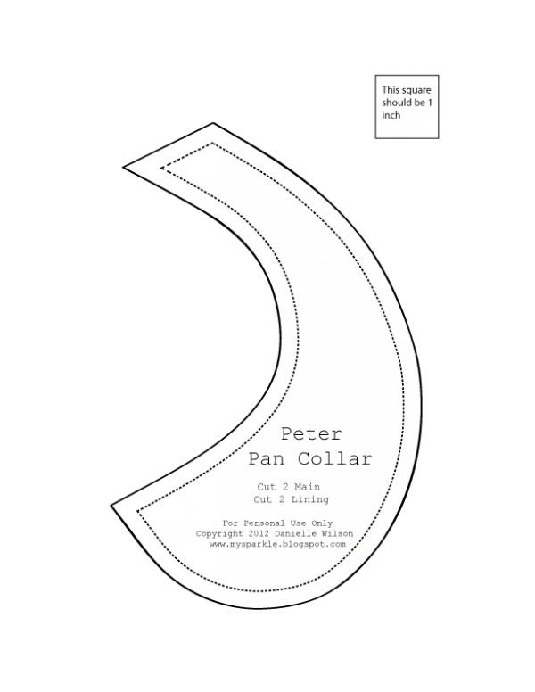 Removable Peter Pan Collar // Kollabora Alt Summit Challenge   Kollabora