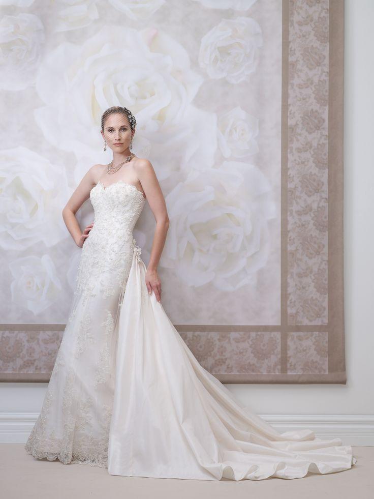 29 best Spring 2014 ~ Wedding Dress Collection images on Pinterest ...
