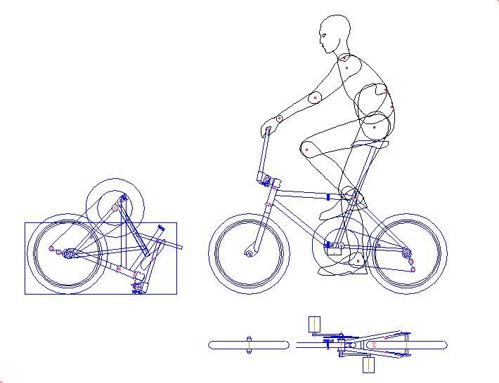 Картинки по запросу складной велосипед чертеж