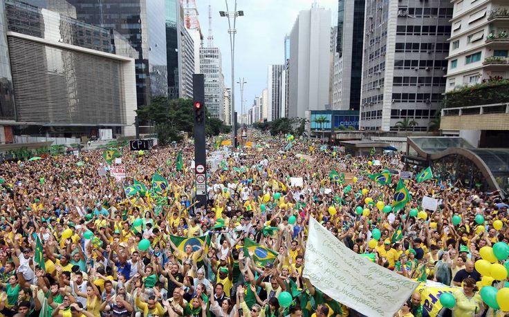 Fim da corrupção era uma das bandeiras do Vem Pra Rua, do Movimento Brasil Livre e do Revoltados Online na defesa da saída de Dilma