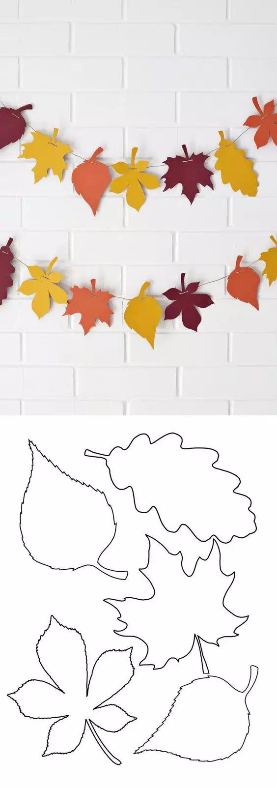 Faça você mesmo a decoração de outono – 15 idéias de artesanato DIY para a terceira temporada   – Basteln herbst