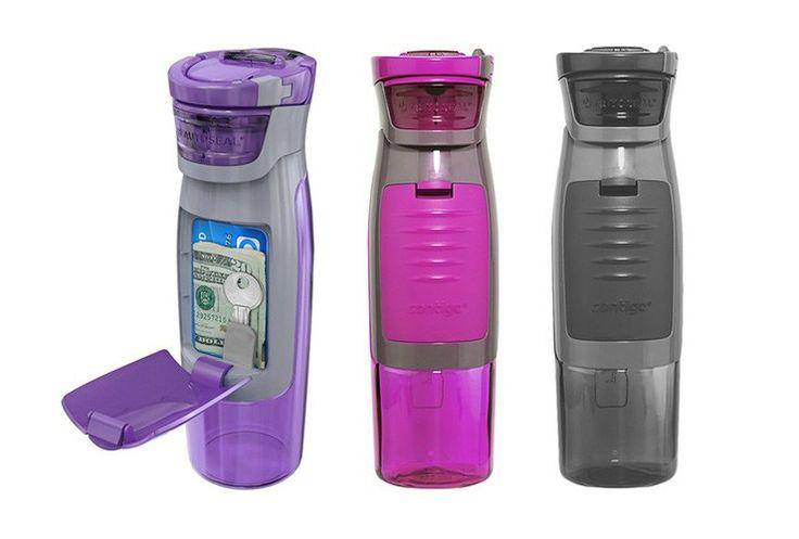 Kangaroo Water Bottle with Pocket