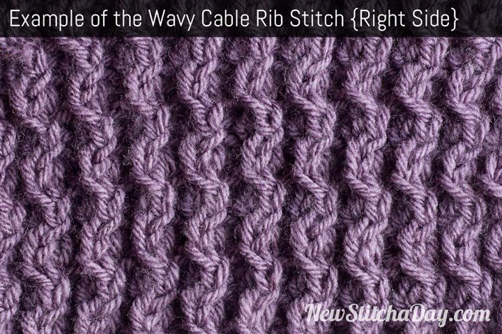 Rib Patterns Knitting : 17 Best images about Knitting Stitches on Pinterest Ribs, Knitting stitches...