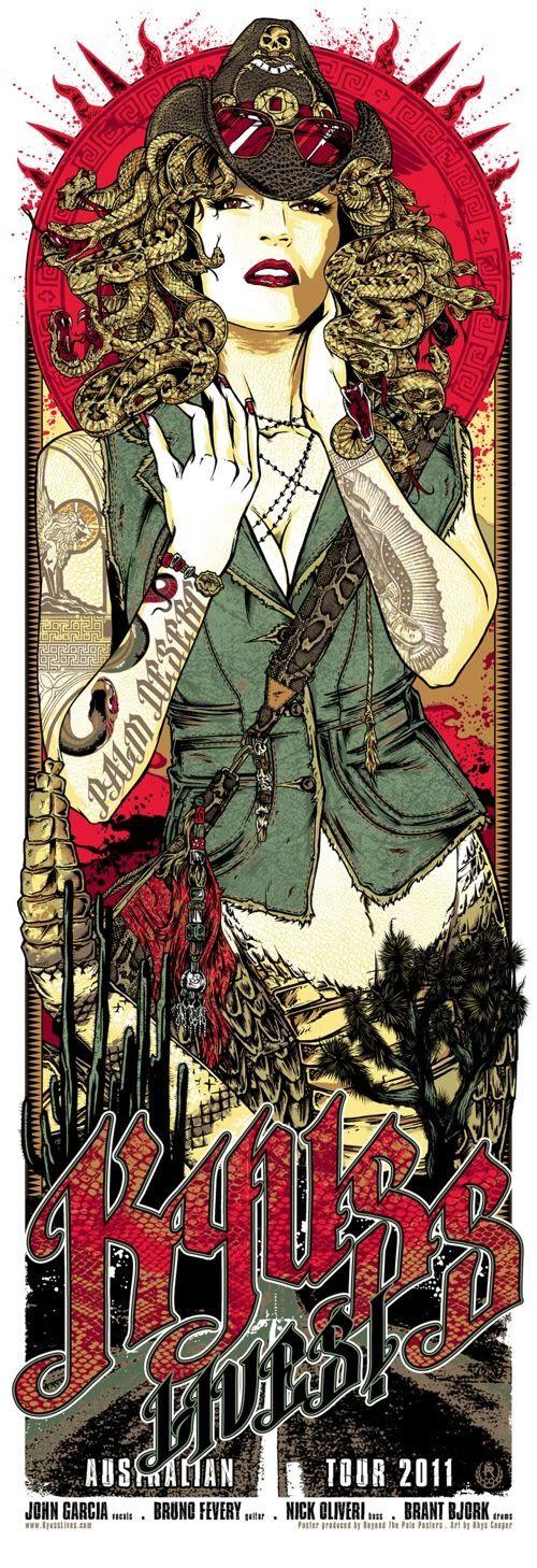 Rhys Cooper's Kyuss Poster