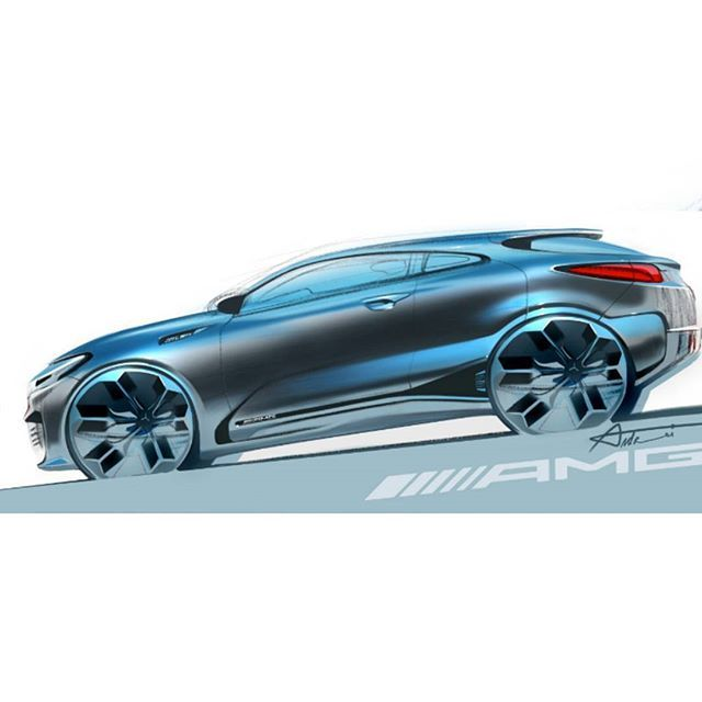 AMG Sketch by Andrei Trofimchuk (@andrei_trofimtchouk) #cardesign #amg #concept #mercedes #mercedesbenz #sketch #carsketch #instacar #vehicledesign #transportdesign #automotivedesign #vision