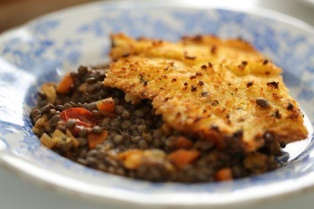 Torta vegetariana de legumes e lentilha                                                                                                                                                                                 Mais