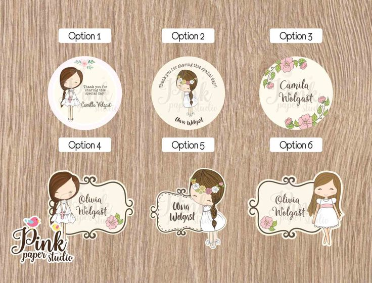 First Communion Favor Tags • Baptism Favor Tags • Cupcake Toppers (SET OF 12 PIECES) for Model de PinkPaperStudioMiami en Etsy https://www.etsy.com/es/listing/491662328/first-communion-favor-tags-baptism-favor