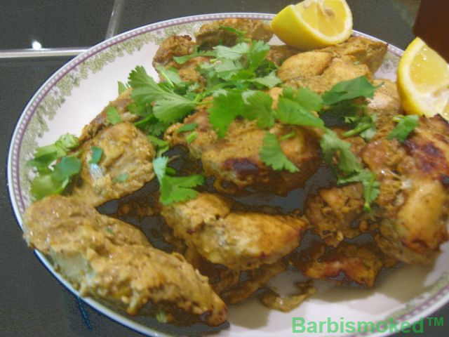 Moroccan Chicken    see recipes at https://garlic-recipes.com #chickenrecipes #moroccanrecipes #garlicrecipes #barbismoked #smokedgarlic #bbcfood #foodchannel #spicyrecipes #eatmoregarlic