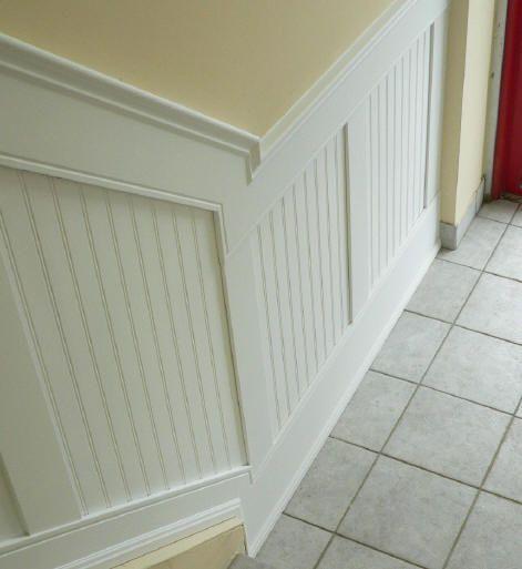 Grey Panelling Under Stairs: Mouldings – Elite