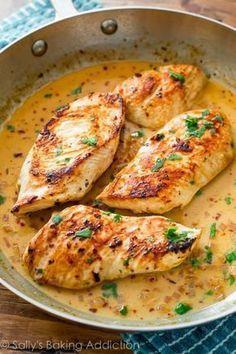 27 recetas de pollo. Aquí está la receta de una cena. Guiso. Horno. Sarten. Plancha...
