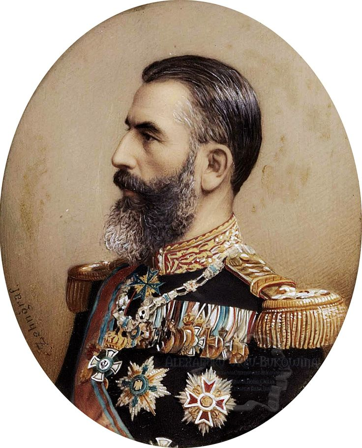 Carol I (1839-1914), King of Romania 1866-1914, by Johannes Zehngraf