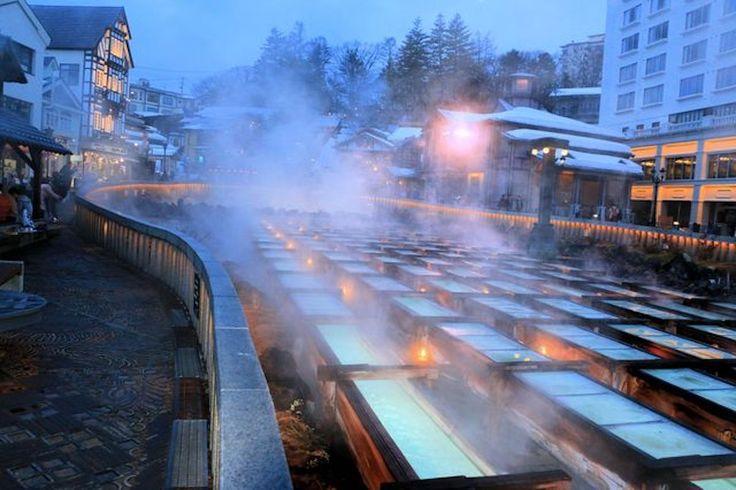 群馬の名湯秘湯で過ごす冬の癒し旅草津温泉法師温泉