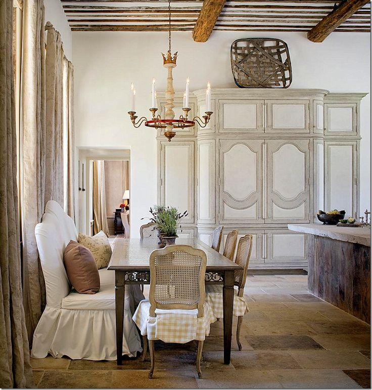Lovely spot for dining in a kitchen