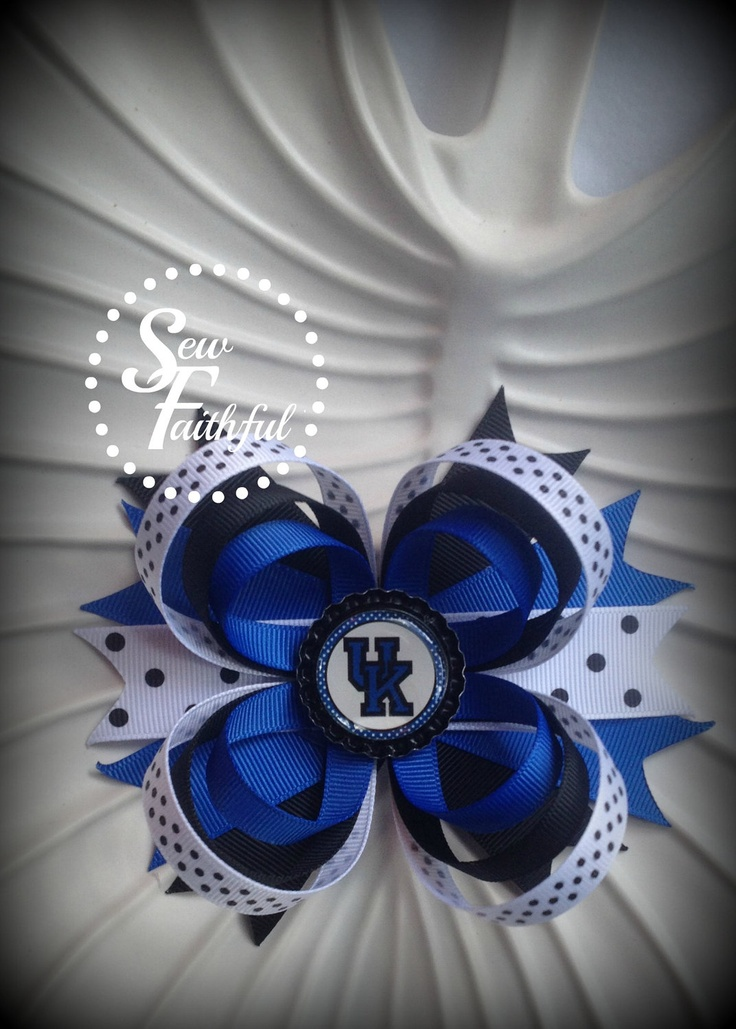 43 best Kentucky Wildcats Nails, Hair and Makeup images on Pinterest ...