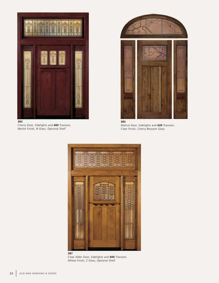 Jeld Wen Parts Catalog Jeld Wen 36 In X 80 In Craftsman 6