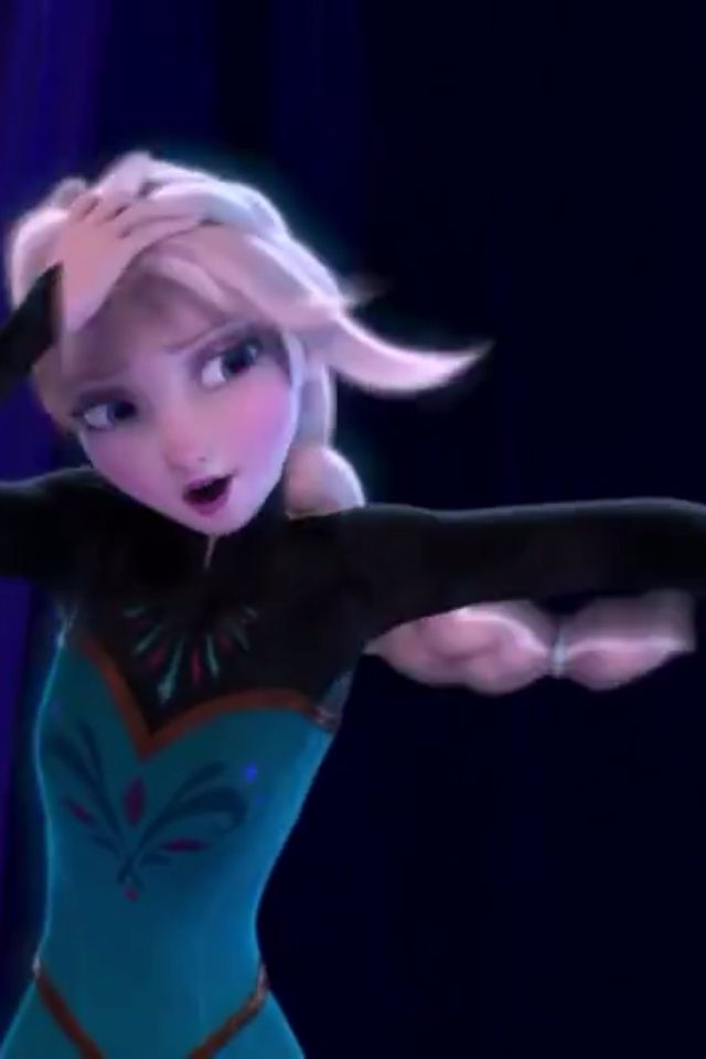 """Love this part! The only """"new"""" Disney movie I like!!! Oh and Brave, Princess and the Frog, Tangled, and Ariel!"""