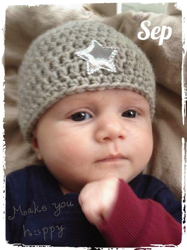CutiePie Designs: Gratis Patroon baby mutsje, Nederlands, #haken, baby, kraamcadeau