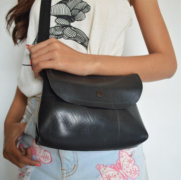 Handmade rubber bag – Siem Fair Trade Fashion