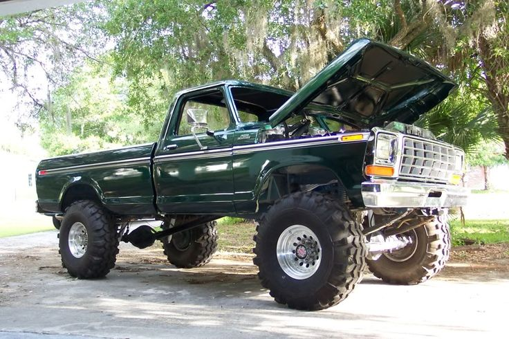 79 F350 How much lift - Ford Truck Enthusiasts Forums
