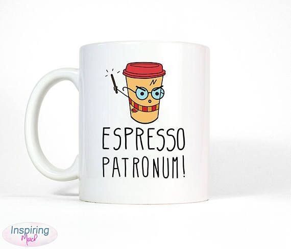 Espresso Patronum Coffee Mug | Funny Harry Potter Cup  ➤ Mug Details ✮ Professionally printed on BOTH Sides ✮ Available in 11 oz. & 15 oz. sizes ✮ White ceramic, glossy finish ✮ Sharp printing, peel and scratch off resistant ✮ Microwave & Dishwasher Safe  ➤ Each mug is handcrafted with professional equipment and custom made to order. Our special selection of handmade ceramic coffee mugs and drinkware are perfect for gift -giving, holidays, special occasions and everyday use.  ➤ Visit ...