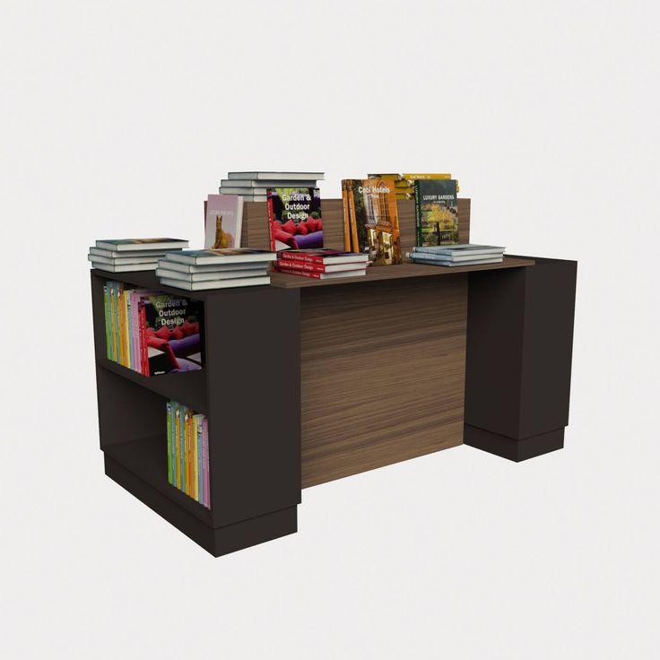 Γόνδολα ραφιέρα βιβλιοπωλείου 01-002