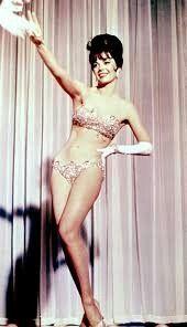 Natalie Wood stripteasing