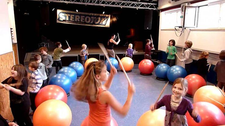 "Tara Ring Druming for fitness to ""chocolate"" fun routine"