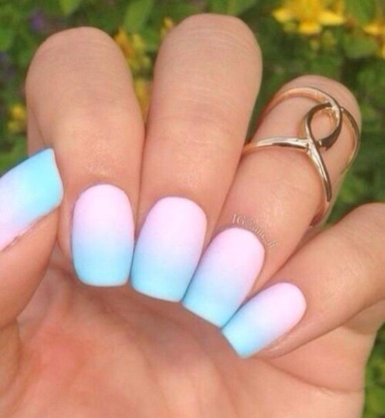 47 Most Amazing Ombre Nail Art Designs - Best 25+ Cute Acrylic Nails Ideas On Pinterest Coffin Nails