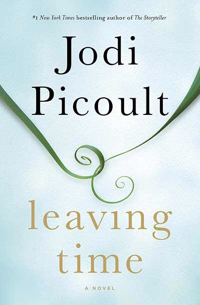 January 2015 Book of the Month:  Leaving Time by Jodi Picoult #kickupyourheels #kuyh