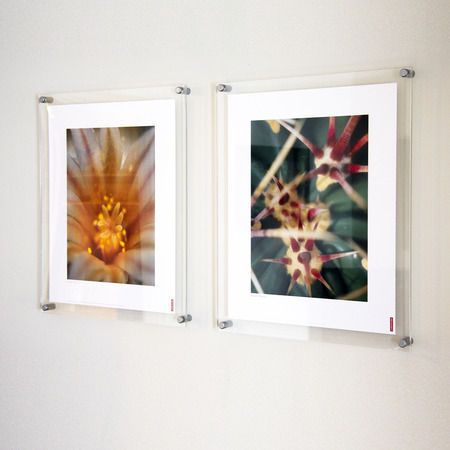 wall mounted clear acrylic frames perfect for photos artwork posters or prints secured
